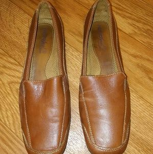 Genuine Leather Casual Loafers.